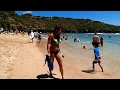 HD Wide Angle View of Hanauma Bay Beach, Best Snorkeling on Oahu, Honolulu, Hawaii