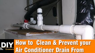 getlinkyoutube.com-How to  Clean and Prevent your Air Conditioner Drain From Clogging
