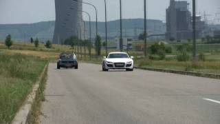 getlinkyoutube.com-VW Golf G60 vs Audi R8 4.2 (HD)
