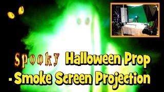 getlinkyoutube.com-DIY Spooky Halloween FX Prop - Smoke Screen Projection