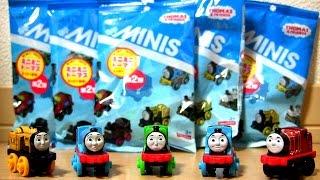 getlinkyoutube.com-THOMAS & FRIENDS MINIS Vol.2 ☆ ミニミニトーマス第2弾☆きかんしゃトーマス おもちゃアニメ開封です☆