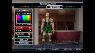 getlinkyoutube.com-[PS2]SmackDown Vs. Raw 2011 How to Create Ryback