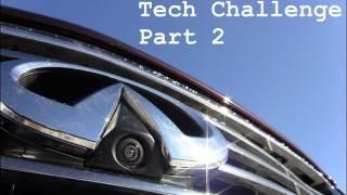 getlinkyoutube.com-2012 Infiniti EX35 Around View video camera Technology Challenge (part 2)