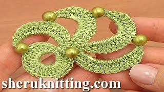 getlinkyoutube.com-Irish Crochet Motif Tutorial 20