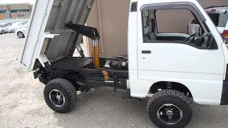 getlinkyoutube.com-Subaru Mini Truck with Heavy Duty Dump