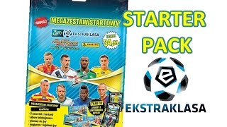 getlinkyoutube.com-EKSTRAKLASA - STARTER PACK - Panini - Limited Edition - saszetki - Adrenalyn xl