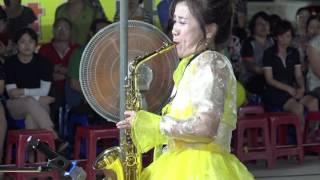깡통과 고하자 팀 포항 불꽃축제  초청 박금란  멋진 색스폰 연주.