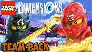 getlinkyoutube.com-LEGO Dimensions: Ninjago - Team Pack - Free Roam + Unboxing (71207)