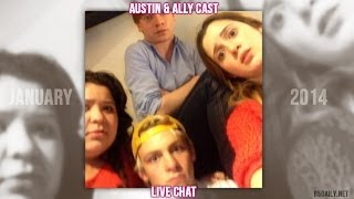 getlinkyoutube.com-Austin & Ally Cast Live Chat [January 20, 2014]