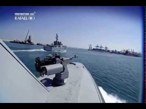 Rafael Advanced Defense Systems - Protector Umanned Surface Vessel (USV) [480p]