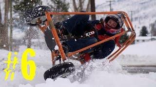 Homemade Go-Karts Episode #6 (Snow Roller)