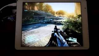 Teclast X98 Pro Tablet - playing Crysis 2