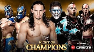getlinkyoutube.com-WWE Night Of Champions 2015 Preview: Neville & Lucha Dragons vs Cosmic Wasteland