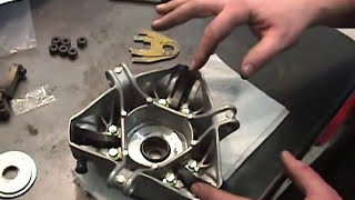 Skidoo 800etec Freeride or Summit kit install secondary part 3/5