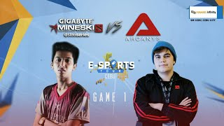 getlinkyoutube.com-EST Cebu - Mineski vs Arcanys Game 1 Casted By Dunoo and Lon