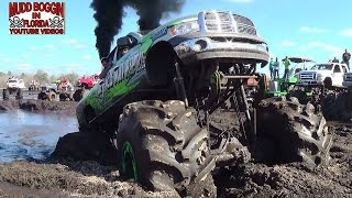 getlinkyoutube.com-Diesel Dodge Mega Ram..Stuck Like Chuck....Forever Again.
