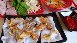getlinkyoutube.com-Vietnamese steamed rice rolls - Banh cuon