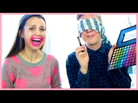 Blindfolded Makeup Challenge with Tyler Oakley!!!