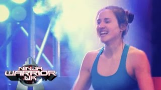 getlinkyoutube.com-Lilian Hunt means business | Ninja Warrior UK