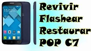 getlinkyoutube.com-flashear | revivir | restaurar ALCATEL OT POP C7