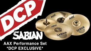 Sabian AAX Performance Cymbal Set - DCP Exclusive!