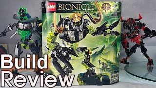 getlinkyoutube.com-[Live] 레고 바이오니클 71316 파괴자 우마라크 조립 과정 리뷰 Lego bionicle umarak the destroyer Build Review