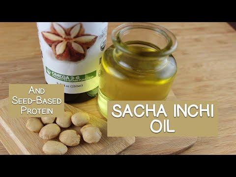 Sacha Inchi Oil and Seed-Based Protein Powders
