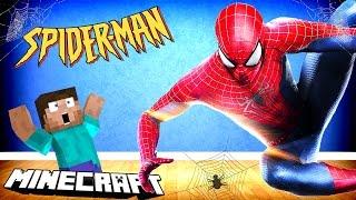 SPIDER-MAN W MINECRAFT!