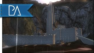 getlinkyoutube.com-ATTACKING HELM'S DEEP - Fall of Mordor - Mount and Blade: Warband Mod Gameplay
