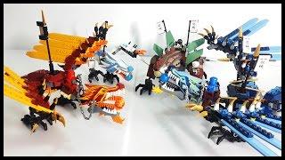getlinkyoutube.com-樂高忍者高 レゴ ニンジャゴー 레고 닌자고 드래곤 빠른 조립영상 Lego Ninjago Dragon Collection fast build review 레고장난감