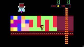 getlinkyoutube.com-UnderTale - Beating Mettaton's Tile Puzzle