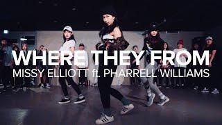 getlinkyoutube.com-Where They From - Missy Elliott feat. Pharrell Williams / Mina Myoung Choreography