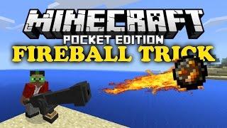getlinkyoutube.com-✔ Fireball Trick - Minecraft PE