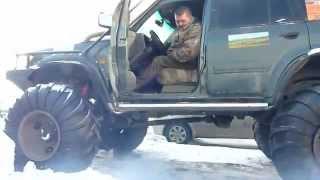 getlinkyoutube.com-russian patrol Y61 extrem big foot
