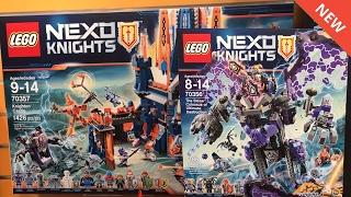 LEGO NEXO KNIGHTS SUMMER 2017 SETS IMAGES!