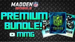 getlinkyoutube.com-FIRE Premium Bundle Opening! + Bundle Topper - Madden Mobile 16