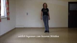 getlinkyoutube.com-Stitches  - Line dance -  teach & learn