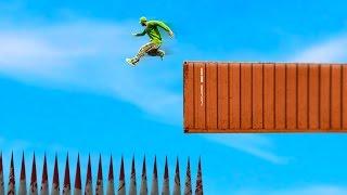 getlinkyoutube.com-IMPOSSIBLE SKY HIGH DEATH JUMP! (GTA 5 FUNNY MOMENTS)