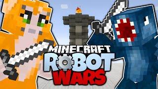 getlinkyoutube.com-Minecraft | STAMPY CAT VS IBALLISTICSQUID! | Magic Animal Club Fight | Minecraft Robot Wars