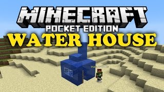 getlinkyoutube.com-✔ Water House Trick - Minecraft PE