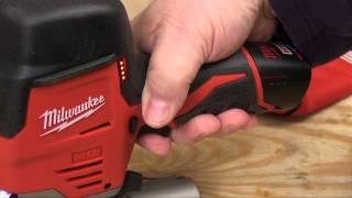 getlinkyoutube.com-Milwaukee M12 Cordless Jig Saw Review