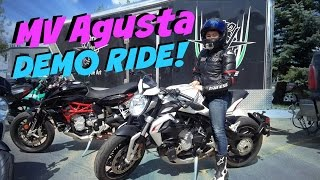 getlinkyoutube.com-MV Agusta Dragster 800 Demo Ride
