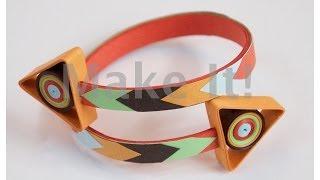 getlinkyoutube.com-How to Make Quilled - Let's Go Thataway Paper Bracelet - Modern Quilling  #2