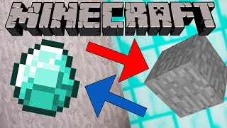 getlinkyoutube.com-If Diamonds and Stone Switched Places - Minecraft