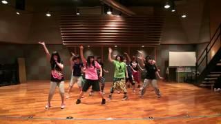 getlinkyoutube.com-モーニング娘。 『ワクテカ Take a chance』 (Dance Rehearsal)