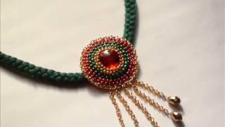 How to make a decorative jewellery pendent