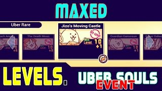 getlinkyoutube.com-All 5 Ultra Souls MAXED!!! (Ultra Souls Event) The Battle Cats Gameplay
