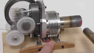 "getlinkyoutube.com-1"" Bore Yoke Drive Stirling Engine"