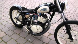 getlinkyoutube.com-SR 500 Bobber start up