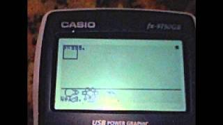 getlinkyoutube.com-Calculator Games for Casio Fx-9750GII